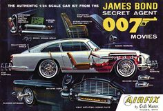 Craftmaster / US Airfix DB5 James Bond 007 1:24