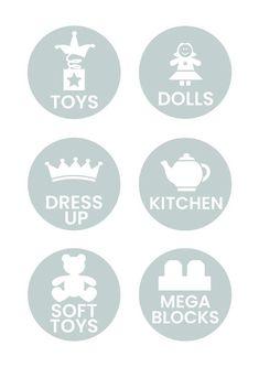 Toy Storage sticker labels / Toy Box labels / Nursery / Stickers / Storage / Lego / Personalised / C Ikea Boxes, Toy Boxes, Lego Storage, Storage Ideas, Toy Labels, Sticker Storage, Trendy Wallpaper, Wallpaper Backgrounds, Nursery Stickers