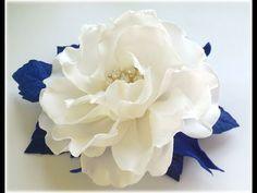 МК Простой способ создания красивого украшения с зефирного фоамирана. - YouTube
