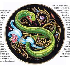 Filete Porteño. Patrimonio cultural inmaterial de la humanidad #Argentina #Illustration #Ilustracion