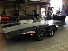 CA Custom Car Haulers & Trailers | Bear Trailersports Car Hauler Trailer, Trailer Plans, Trailers, Bend Tube, Tire Rack, Led Tail Lights, Storage Compartments, Water Tank, Picnic Table