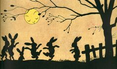 Danse des lapins au clair de Lune