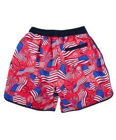 607d2b0300 Rowdy Gentleman presents the National Anthem Swim Trunk. Go live, America.  6
