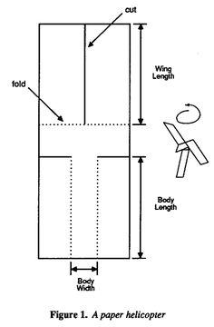 Teaching Engineers Experimental Design With A Paper Helicopter Box