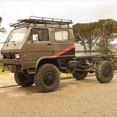 Mini Trucks, Chevy Trucks, Pickup Trucks, Expedition Trailer, Expedition Vehicle, Vw Lt Camper, Vw Lt 4x4, Vw T3 Syncro, Overland Truck