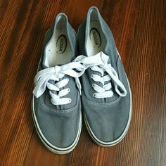 Soda gray sneakers Product Description: ?Soda sneakers in gray, perfect for summer time. In good used condition. The signs of wear are dirt stains on the white rubber on the outside, and some on the inside. Size 9  Materials: ?n/a  Features: ?Cute white stitching Soda Shoes Sneakers