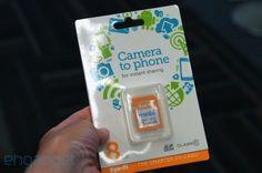 Eye-Fi から無線LAN SDカードの新製品 mobi、スマートフォンに直接転送&簡単セットアップ