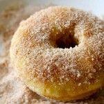 Baked Maple Cinnamon Donuts