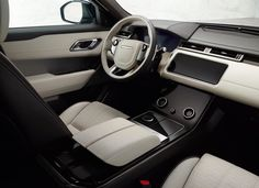 As long as there's room on the roads, there's room for another SUV. So goes the thinking at Land Rover, as it reveals the new Range Rover Velar, a five-seat, sporty SUV that squeezes between the Evoque and Range Rover Sport and goes on sale this summer Range Rover Sport, The New Range Rover, Range Rovers, Jaguar, Techno, Motor A Gasolina, Lexus Lfa, Mid Size Suv, Horses