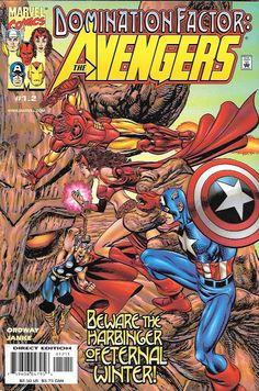 Domination Factor: Avengers # 1.2 Marvel Comics