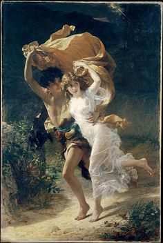 """""""The Storm"""" by Pierre-Auguste Cot"""