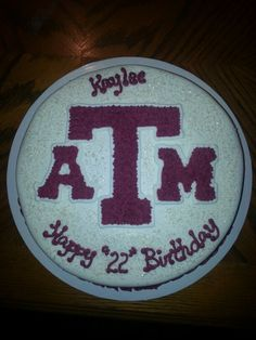Texas A and M cake