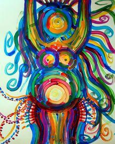 Goddess Art Painting PRINT birth doula midwife fertility Powerful She… Pregnancy Art, Pregnancy Timeline, Pregnancy Videos, Pregnancy Journal, Pregnancy Quotes, Pregnancy Style, Pregnancy Health, Pregnancy Shirts, Birth Art