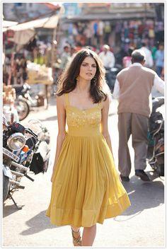 nice 60+ Yellow Dress Will Make You Pretty and Fresh