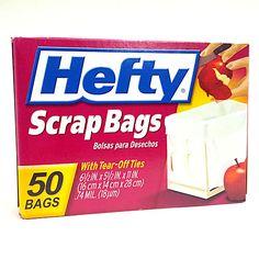 Do you use Hefty Scrap Bags?