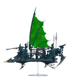 with a fair number of raiders in the force there needs to be some differentiation. this tall sail would suit and elite unit well.
