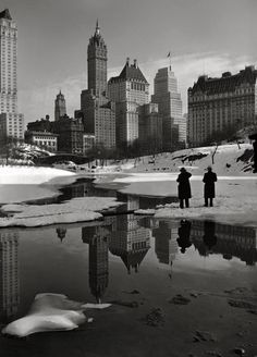 New York Winter photo New York Savoy Plaza and Plaza hotels from Central Park. Central Park, New York Poster, New York Photographie, Photo New York, Shorpy Historical Photos, Historical Pictures, Historical Fiction, Photos Originales, Winter Palace