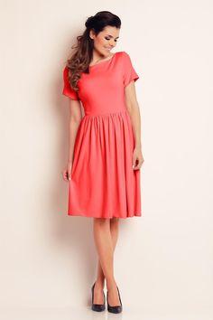 Coral Awama Dresses