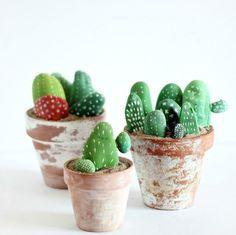 ricordi delle vacanze sassolini cactus