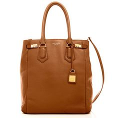 Henri Bendel. The Carlyle Tote Brown, $450, now featured on Fab.