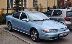 Oldsmobile Alero 3.4  V6 Light blue pearl paint (+blue xirallic) . --- The car was restored 02.2017