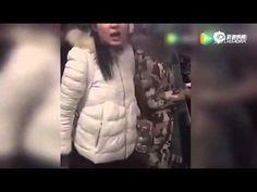 东北美女北京医院怒斥保安勾结黄牛300元号炒到4500围观群众落泪