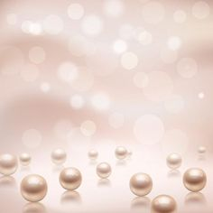 Download Luxury pearls background for free