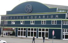 The Seattle Aquarium is on pier 59 on the Seattle waterfront right down a few flights of stairs (or elevator rides) and across the street from the Pike Place Market http://www.squidoo.com/seattle-aquarium
