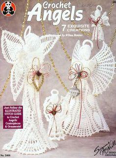 crochet angels - Barbara H. - Álbumes web de Picasa libro completo con patrones de angeles hermosos!!! More