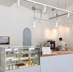 Home Decoration Online Shopping Code: 6221458809 Korean Coffee Shop, Japanese Coffee Shop, Cafe Shop Design, Coffee Shop Interior Design, Bar Restaurant Design, Cafe Restaurant, Restaurant Uniforms, Korea Cafe, Bar Pub