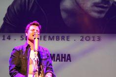 Dani Martín durante el concierto que cerró la primera edición Yamaha Yamsession