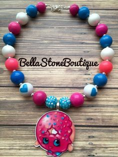 Shopkins D'lish donut mini chunky by BellaStoneBoutique on Etsy