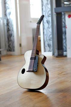 NK Forster Guitars - maker of handmade acoustic guitars and mandolins Bass Ukulele, Guitar Rack, Jazz Guitar, Music Guitar, Cool Guitar, Acoustic Guitar, Hurdy Gurdy, Archtop Guitar, Guitar Building