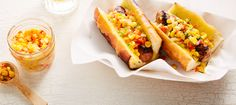 This is the Gourmet cheese dogs recipe. Cream Butter, Ice Cream, Cheese Dog, Milk Products, Gourmet Cheese, Dog Recipes, C'est Bon, Summertime, Dairy
