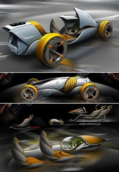 "Mutation Futuristic Car Concept.... Wow... if I live long enough and had the ""coin"" .... I'd have one... not greedy; just one please... ;D"