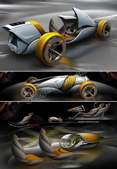 Mutation Futuristic Car Concept
