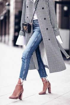 14 Best Casual Outfit Ideas Combinations Out Deze winter … - Kleidung Mode Look Fashion, Street Fashion, Fashion Clothes, Trendy Fashion, Fashion Women, Dress Clothes, Womens Fashion Outfits, Fall Fashion, Jeans Fashion
