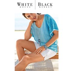 COMING SOON WHBM V-Neck Tie Front Pullover Details, pics and pricing coming soon! White House Black Market Tops