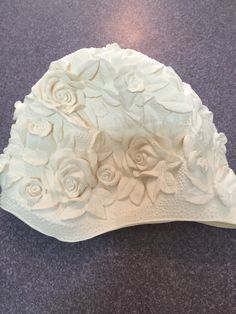 #sold #1960s #ivory #floral #swimming #cap.   This beautiful #60s swimming cap with raised embossed flowers is going to New York with its new owner, thank you for your purchase, we appreciate the business, enjoy the cap.   www.vintageclothin.com   #swimming #swimmingcap #vintageswimmingcap #vintage #vintageshop #vintagestore #vintageseller #vintageforsale #bathinghat #bathingcap #vintageforsale #vintageclothin #vintageclothin.com #vintageclothes #vintageclothing #1960s #1960 #60s…