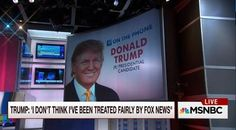 Full Video: Donald Trump MSNBC Morning Joe Live Interview on Fox News Boycott, Hillary Clinton, Marco Rubio and More