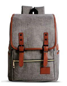 28.24$  Buy here - http://vidzc.justgood.pw/vig/item.php?t=2l1siy3487 - Design Vintage Canvas Women Backpacks School Bag For Teenagers Women Travel Back 28.24$