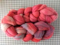 Kammzug Pink Candy - spinnweben