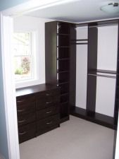 Make any small room feel larger Storage Shelves, Storage Spaces, Tall Cabinet Storage, Closet Storage Systems, Shower Doors, Closets, Larger, Creative, Room