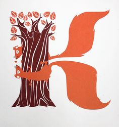 K is for Kiss, GoGo Picnic, Illustration, Print.