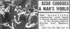 Azar Moayeri - Our Fearless Founder Only Girl, Mans World, Edinburgh, Things I Want, Female