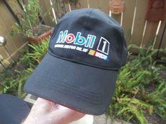 Mobil 1 NASCAR Hat Adjustable Cap