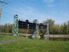 Guard-gate on the Erie Canal