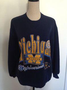 Vintage Michigan University early 90s Sweatshirt by 21Vintage