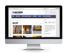 Kaltech website design and development by The Savvy Socialista.
