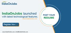 The best naukri job search site to find the latest jobs in India. IOJ, The job site in India offers free job posting and free recruitment tools. Job Search, Free Job Posting, Best Online Jobs, Job Offers, Job Portal, Good Job, Hyderabad, Mumbai